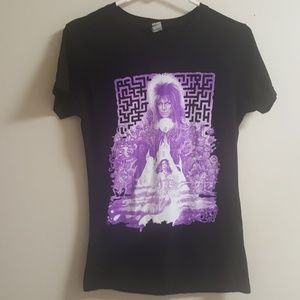 Used, David Bowie Labyrinth T-shirt size Medium for sale